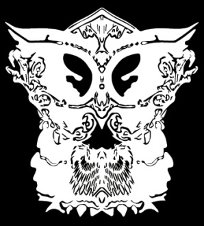 inverted-vector-owl